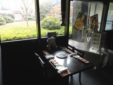 (日本語) 4名用テーブル席