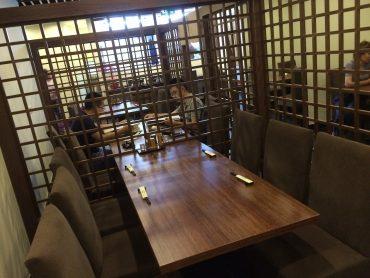 (日本語) フロアテーブル席