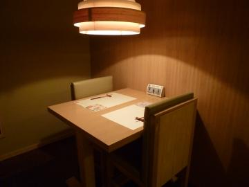 2名用テーブル個室