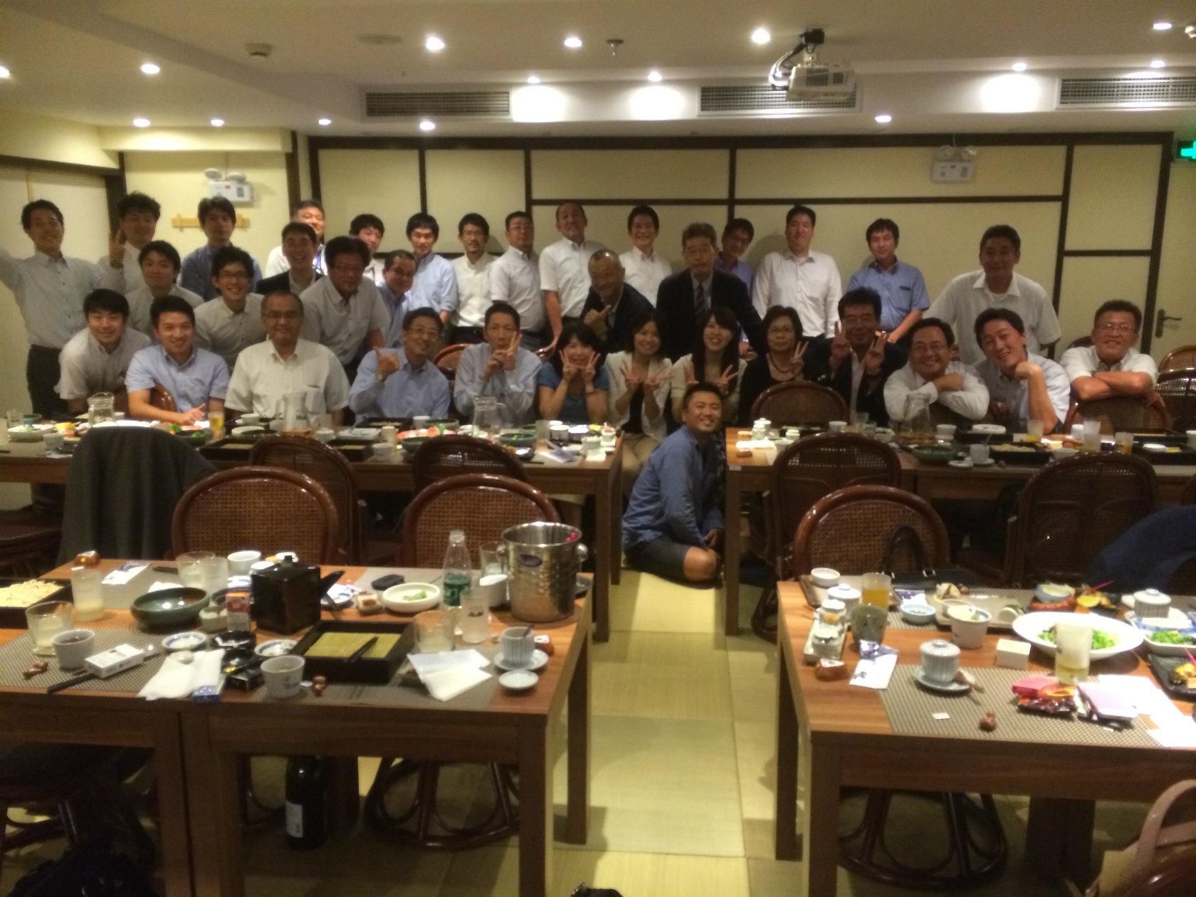 石川県人会の皆さん