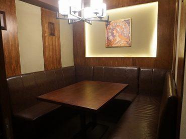 (日本語) 6名様用テーブル個室