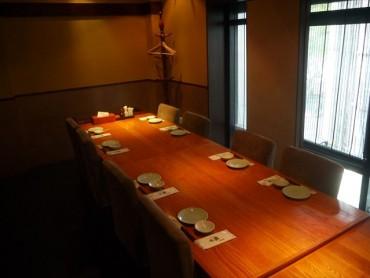 個室大 テーブル席
