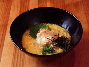 (日本語) 蟹だし卵うどん