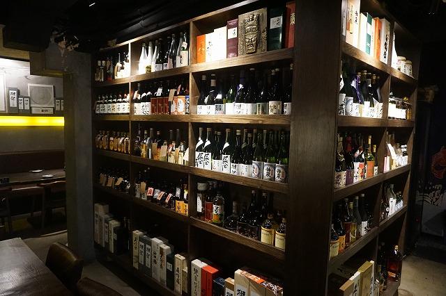 お酒の種類も豊富です