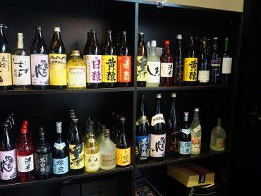 九州のお酒も豊富です。