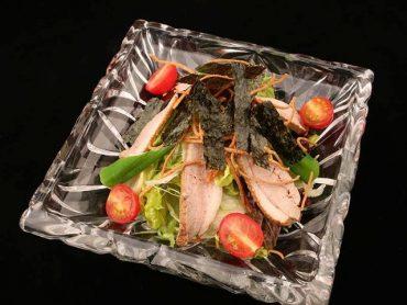 鴨肉有機野菜サラダ